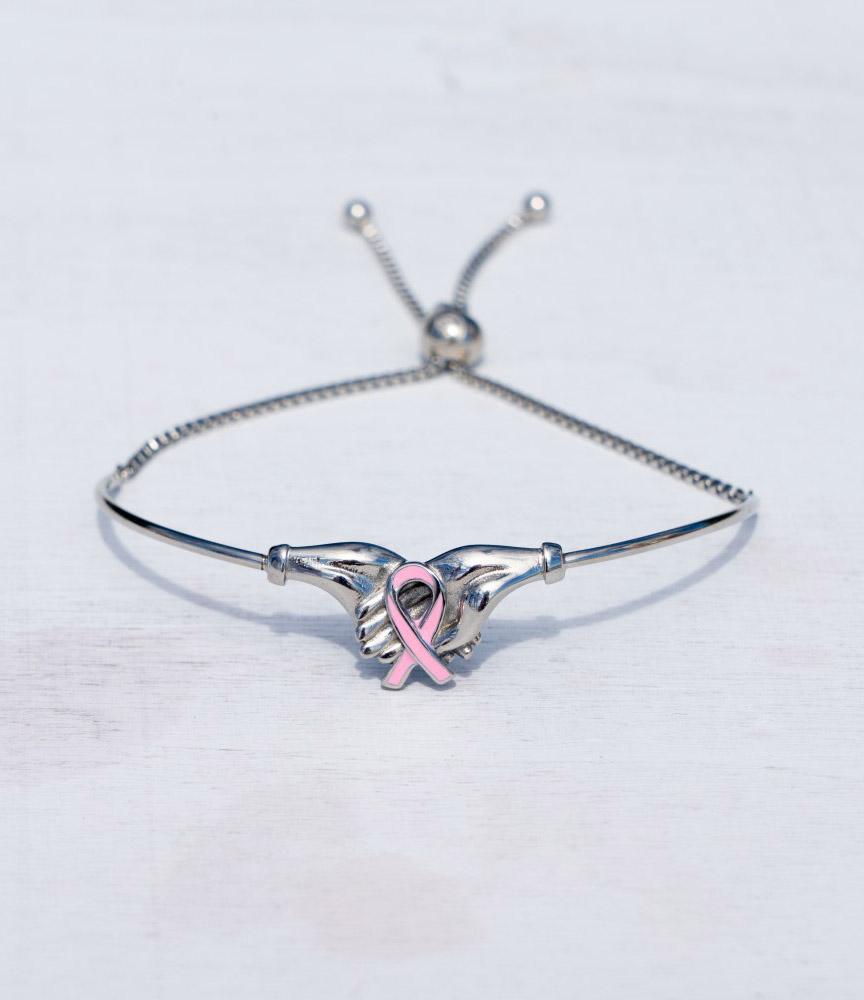 Breast Cancer Awareness Bangle